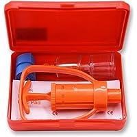 Lixada Extractor Pompe Vide Aspirateur Kits D'aide pour À L'extérieur Camping Randonnée Escalade Randonnée