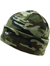 NEW WINTER WARM THINSULATE™ FLEECE BOB HAT US MILITARY WATCH CAP CAMOUFLAGE BEANIE