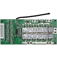 Akozon 14Series 45A 3.7V Tarjeta de Protección para Batería de Li-Ion de Litio, Placa de iones de litio BMS PCB, Misma interfaz (con Función de carga equilibrada)