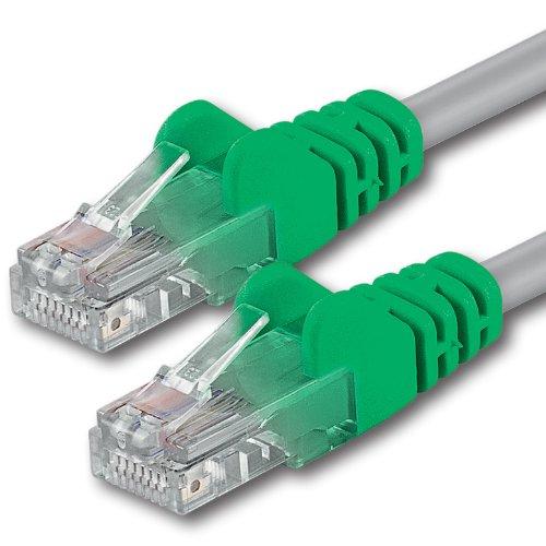 1aTTack CAT 6 Crossover UTP Netzwerk Patch-Kabel mit 2X RJ45 Stecker 0,5m -