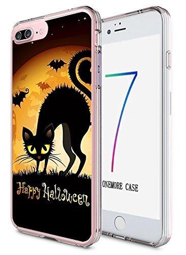 ne 7Plus Hard Cover 14cm Ultra Slim Dünn Happy Halloween, Style-13 ()