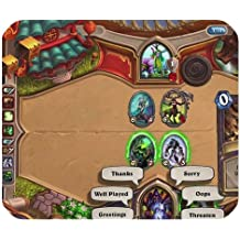Populaire personnalisée Hearthstone Heroes of Warcraft rectangle Tapis de souris
