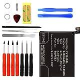 Cellonic Premium Akku für OnePlus 3T (A3010) inkl. Werkzeug-Set (3400mAh) BLP633 Ersatzakku Batterie Wechselakku