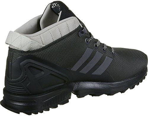 adidas Herren ZX Flux 5/8 TR Hohe Sneaker Schwarz