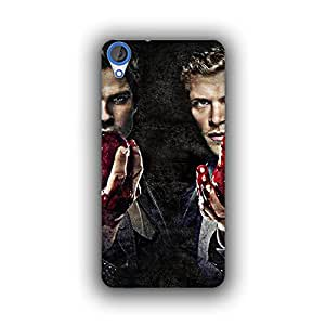 Caseque (Pro) The Vampire Diaries Back Cover for HTC Desire 820
