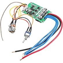 ILS - DC 12V-36V 500W High Power Brushless Motor Controller Driver Board Assembled No Hall
