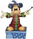 Disney Tradition 4033284 Topolino Resina, Design di Jim Shore, 18 cm