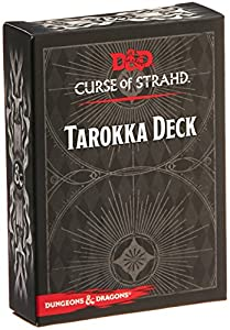 Gale Force Nine gf973706 - de Tablero Dungeons y Dragons: tarokka Deck - Curse of strahd