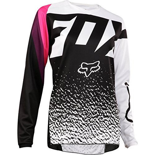 Fox Jersey Junior Lady 180, Black/Pink, Größe YM