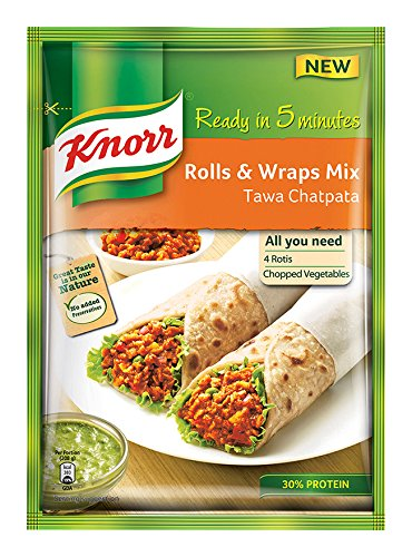 Knorr Rolls & Wraps Mix tawa Chatpata, 50g  available at amazon for Rs.50