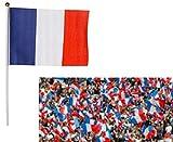 Drapeau France supporter - stade...