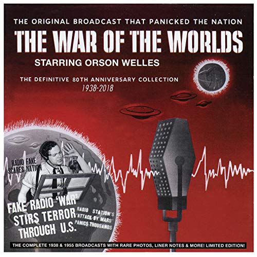 The War Of The Worlds - The Definitive 80th Anniversary Collection 1938-20