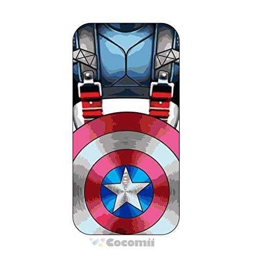 iPhone 8/iPhone 7 Fall, cocomii Iron Man Armor New [Heavy Duty] Premium Tactical Grip Ständer stoßfest Hardcase Schale Bumper [Military Defender] Full Body Dual Layer Rugged Cover, Captain America