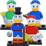 LEGO 71024 Disney Serie 2 Minifiguren: Tick #3, Trick #4, Track #5 und Dagobert Duck #6