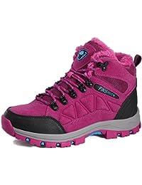 Bottes et boots Retro Martin Bottes Femme Flats Cravate Les Lacets Hiver Femmes Chaussures Raquettes à neige ( Couleur : Noir , taille : 36 )