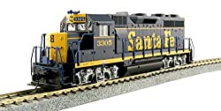 Kato USA Model Train Products HO EMD GP35 Phase Ia - AT&SF