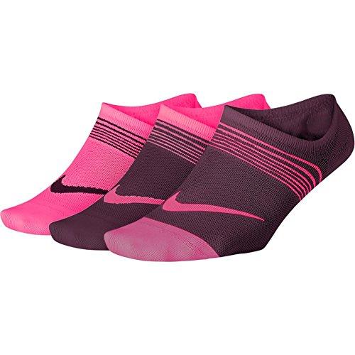 Preisvergleich Produktbild Nike Socken – Perfory Everyday Lightweight (3 Pair) rosa / violett / rosa Größe: 38 bis 42 EU I 6-9 USA I 5-8 UK