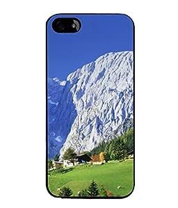 PrintVisa Designer Back Case Cover for Apple iPhone 4 (The Nature Picturesque Design)