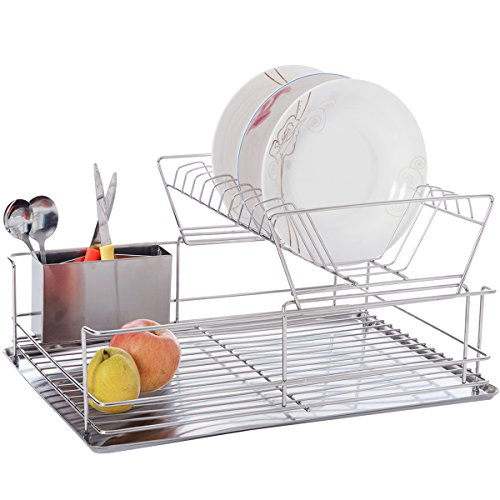 dxp-2-tier-dish-drainer-dish-rack-for-10-dishes-plates-with-drip-tray-and-drain-cutlery-holder-stain