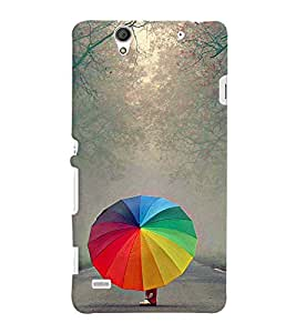 Fuson 3D Printed Designer back case cover for Sony Xperia C4 - D4379
