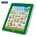 Kids Learning French Interactive Bilingual Talking Touch Pad Tablet with Touch Screen - Lexibook Kids Pad Discovering Numbers & Letters, Words, Spellings, Music & Instruments (English / French)