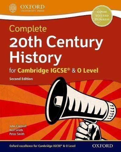 20th century history for Cambridge IGCSE. Student's book. Per le Scuole superiori. Con espansione online