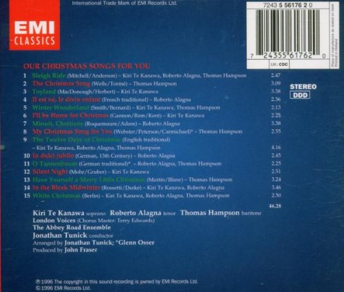 Our Christmas Songs for You [Import USA]
