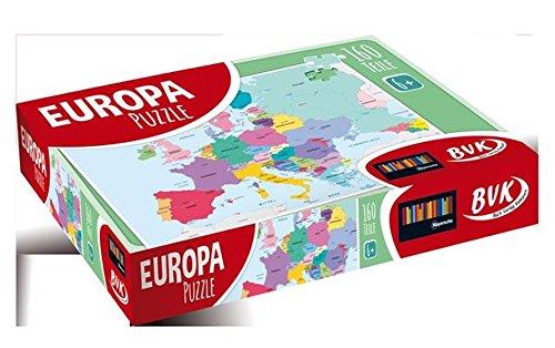 Europa-Puzzle par  BVK Buch Verlag Kempen