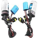 Eaglerich 2 PCS NUEVO descarga de alta intensidad HID Kit Luces DC12V 35W 6000K 9007 Xenon Bombillas