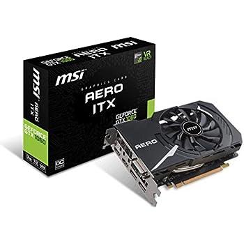 MSI Carte graphique GeForce GTX 1060 AERO ITX 3G OC