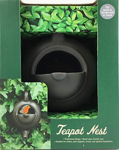 The Gifted Gardner Teekanne, Gusseisen-Effekt, Vogelnester