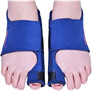 Bunion Corrector 2pcs Bunion Splints and Big Toe Straighteners Separators Night Time Hallux Valgus Splints for Bunion Relief