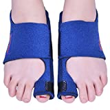 Bunion Corrector 2pcs Bunion Splints and Big Toe Straighteners Separators Night Time Hallux