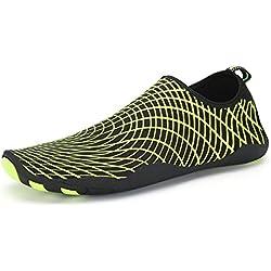 Colfeel Unisex Zapatos de Agua de Playa Zapatos Deportivos para Buceo Surf Natación Yoga Secado Rápido Descalzo