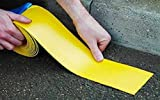 Road Line Markieren torch-on Permanent 7,6cm (75mm) X 5m Lang Gelb
