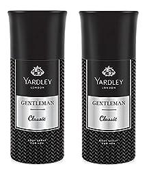 Yardley London Gentleman Deodorant For Men 150-ML (Pack of 2)