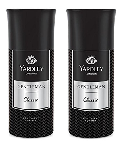 Yardley London Gentleman Deodorant For Men 150-ML (Pack of 2)