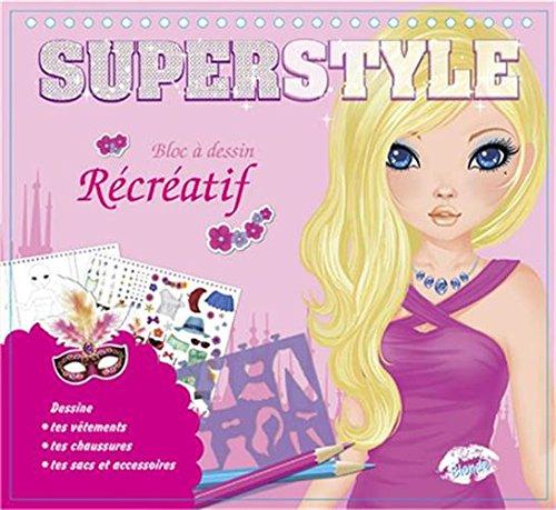 Superstyle blonde bloc à dessin récréatif