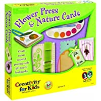 Creativity for Kids Flowers Press & Nature Cards by Faber Castell