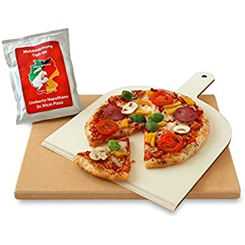 KeramikBrotbackstein La Hacienda Pizzastein für Firebox BBQ Pizzaofen