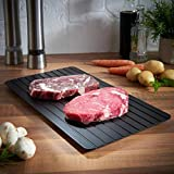 Jaminy Heiße schnelle Auftau-Tablett-Küche Die sicherste Art, Fleisch oder Tiefkühlkost aufzutauen