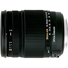 Sigma 18-250mm f/3.5-6.3 DC OS HSM Nikon - Objetivo para Nikon (distancia focal 18-250mm, apertura f/6.3-22, estabilizador óptico, diámetro: 72mm) color negro