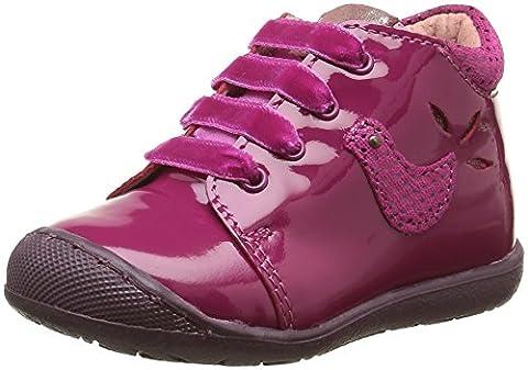 Aster Kurdy, Chaussures Premiers pas bébé fille, Rose (Fuchsia), 20