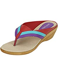 Marie Comfort Faux Leather 923 Purple Slippers