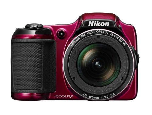nikon-coolpix-l820-appareil-photo-numerique-compact-16-mpix-ecran-3-zoom-optique-30x-rouge
