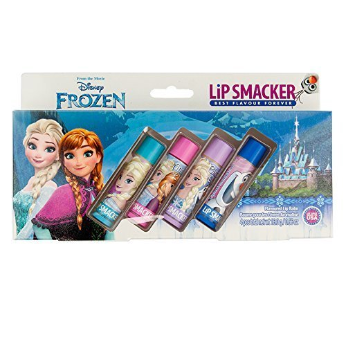 frozen-elsa-anna-olaf-lip-smackers-set-of-4-different-flavour-lip-balms