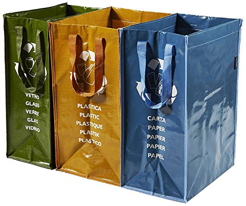 #Perfekte Tasche Recycling Container 3 Fächern#
