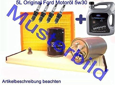 Inspektionskit Filterpaket Ford Fusion Fiesta 5 V 1.3 1.6 16V JH