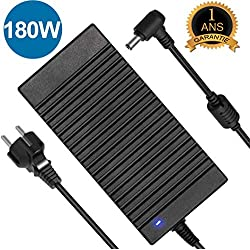 180W ASUS Chargeur,19V 9.5A 180W Asus Rog Chargeur d'alimentation pour Asus G55 G55VW G46VW G53SX G70 G75 A53 G750JM G750JS G750JW G750JX G751JL G751JM G752VL G752VT FX502VM VX7 ZX53VW GL502VM GL502VS
