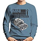 Haynes Workshop Manual Mini 1959 Black Men's Sweatshirt